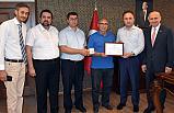 Kızılay'dan Samsun Milli Eğitim Müdürlüğü'ne Kan Bağışı