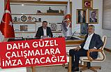 Rektör Sait Bilgiç; Başkan Özdemir'i Makamında Ziyaret Etti