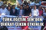 Türk Eğitim Sen Üyelerinden Dikkat Çeken Mesaj