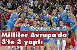 A Milli Kadın Voleybol Takımı, 3'te 3 yaptı