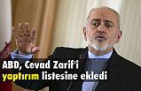 ABD, Cevad Zarif'i Kara Listeye Ekledi