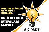 Ak Parti, Yakakent ve Canik ilçe yönetimlerinin ve başkanlarının istifalarını aldı