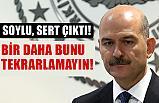 """Bakan Soylu; """"Milletin helal oylarına leke sürmektedirler"""""""