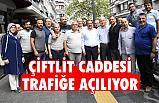 Başkan Demir Açıkladı: Çiflik Caddesi Trafiğe Açılıyor