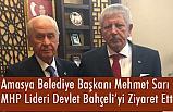 Başkan Mehmet Sarı, Devlet Bahçeli'yi Makamında Ziyaret Etti