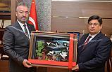 Başkan Topaloğlun'dan Yeni Başsavcı Kılıç'a Ziyaret