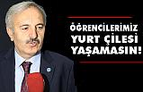 Bedri Yaşar; Öğrenciler Yurt Çilesi Yaşamasın!