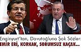 MHP Milletvekili Enginyurt, Davutoğlu'na Sosyal Medyadan Yüklendi