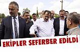 Samsun'da Ekipler, 'YOL' Çalışmaları İçin Seferber Edildi