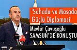 Samsun'da 'Sahada ve Masada Güçlü Diplomasi' Konferansı