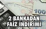 Ziraat Bankası ile VakıfBank Faiz Oranlarını Düşürdü