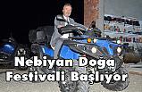 19 Mayıs Belediyesi  Nebiyan Doğa Festivaline hazırlanıyor