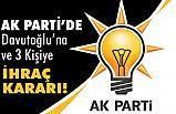 AK Parti'den Davutoğlu Kararı