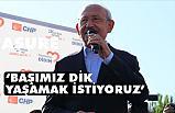 CHP Genel Başkanı Kılıçdaroğlu; Adalet duygusuna güveniyorum