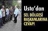 Erhan Usta'dan Sel Bölgesi Başkanlarına Cevap