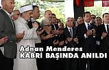 İBB Başkanı İmamoğlu, Adnan Menderes Kabrine Karanfil Bıraktı