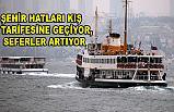 İstanbull'da Şehir Hatları Kış Tarifesine Geçiyor