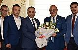 Manisa Ülkü Ocakları'ndan Başkan Cengiz Ergün'e Ziyaret