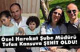 Mardin Ömerli'de 1 özel harekat polisimiz şehit edildi