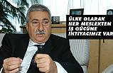 """PALANDÖKEN, """"HERKES BİLDİĞİ İŞİ YAPARSA BAŞARI OLUR"""""""