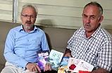 Samsun Yazarlar Derneği Başkanı Seven'den Halk Şairi Dursun'a Ziyaret