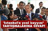 """Soylu'dan """"İstanbul'a yeni kayyım"""" tartışmalarına cevap"""