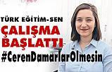 Türk Eğitim - Sen'den hashtag; #CerenDamarlarÖlmesin