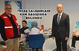 YEDAŞ Çalışanları Kan Bağışı Kampanyasına Destek Verdi