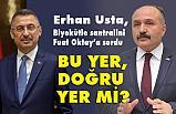 Erhan Usta, biyokütle santralini Fuat Oktay'a sordu