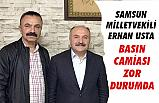 Erhan Usta'dan Kapsamhaber.com'a Ziyaret