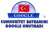 Google, 29 Ekim Cumhuriyet Bayramını Özel bir Doodle ile Kutladı