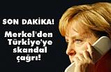 Merkel, Suriye'deki askeri operasyona Derhal Son Verilmesini İstedi