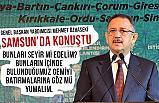 Özhaseki, Samsun'da Yerel Yönetimler Bölge Toplantısı'na Katıldı