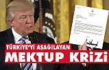 Trump Mektubu Dünyayı Karıştıracak, İşte O mektup!