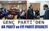 Genç Parti AK Parti ve İYİ Parti'yi Ziyaret Etti