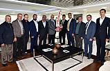 MHP Ahmetli Yeni yönetimden Başkan Ergün'e ziyaret