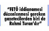 MHP'li Yalçın, Yargı Eli birgün Rahmi Turan'ında yakasını toplayacaktır