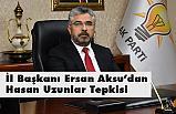 Ak Parti'den Meclis Üyesi Hasan Uzunlar Açıklaması