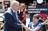 Başkan Demirtaş; Engelli Vatandaşlarımızı Koruyoruz