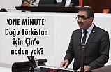 İYİ Partili Oral; 'one minute' Doğu Türkistan için Çin'e neden yok?