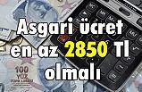 MHP'li Enginyurt, Asgari ücret en az 2850 Tl olmalı