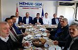 Samsun Memur-Sen Engelliler Komisyonu Şube Başkanları ile bir araya geldi