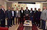 Soma'dan Başkan Ergün'e Ziyaret