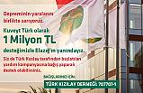 Kuveyt Türk'ten depremzedelere 1 milyon TL