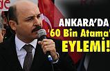 Türk Eğitim-Sen'den '60 Bin Atama' Eylemi