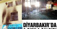8 okula molotoflu saldırı