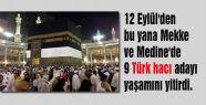 9 Türk hacı adayı öldü