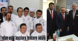 AB Bakanı'ndan usta aşçılara tencere ödülü