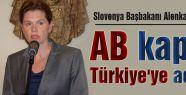 AB kapısı Türkiye'ye açıktır...
