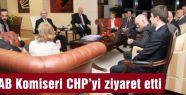 AB Komiseri  CHP'yi ziyaret etti